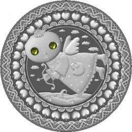 Belarus 2009 20 rubles Sagittarius UNC Silver Coin