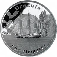 The Demeter Famous Ships That Never Sailed Proof Silver Coin 1$ Tuvalu 2013