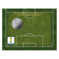 Brazil 2014 2 Reais - Head 2014 FIFA WORLD CUP Brazil Cu/Ni  Coin