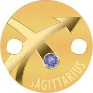 Sagittarius Zodiac Signs Pendant 1g Proof Gold Coin 5$ Niue 2017