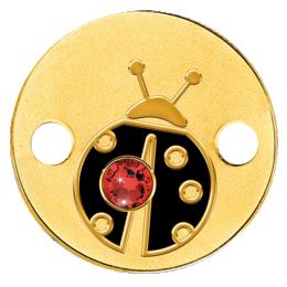 Niue 2016 5$ Ladybug Small Treasures Proof Gold Coin