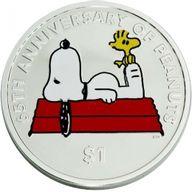 British Virgin Islands 2015 1$ The official Peanuts 65th Anniversary The Peanuts BU CuNi Coin