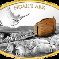 Noah's Ark  3 oz Proof-like Silver Coin 10$ Solomon Islands 2021