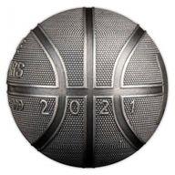 Basketball Spherical 1oz Proof Silver Coin 5$ Samoa 2021