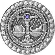Belarus 2009 20 rubles Libra UNC Silver Coin