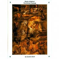 Niue 2013 24$ Dante's Divine Comedy (24 parts) illustrated by Gustave Doré 1 Kilo Edgeless Colorprint Silver Coin