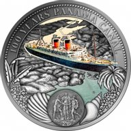 Niue 2014 2$ 1914 - 2014 The Panama Canal turns 100! Proof-like Silver Coin 50 g