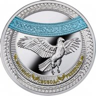 Freedom The World of Your Soul Proof Silver Coin 1$ Niue 2018